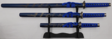 Blue Dragon Katana Set